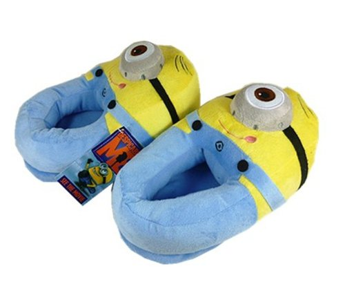 41GbMSeKa7L Despicable Me Plush Soft Minion Shoes Slippers Stewart   Sunning Co., Ltd