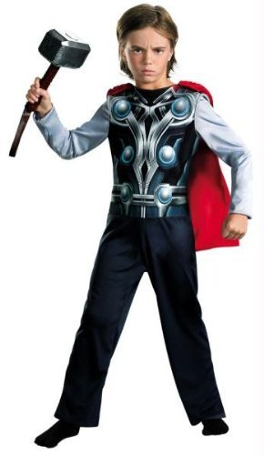 Costumes For All Occasions DG43619L Thor Avengers Basic 4-6