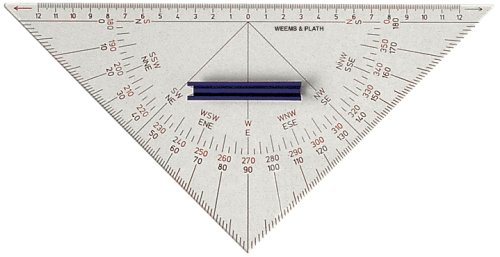 Best Price Weems  Plath Marine Navigation Protractor Triangle with HandleB0000AYIMH
