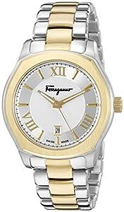 Salvatore Ferragamo Men's FQ1930015 Lungarno Analog Display Quartz Two Tone Watch