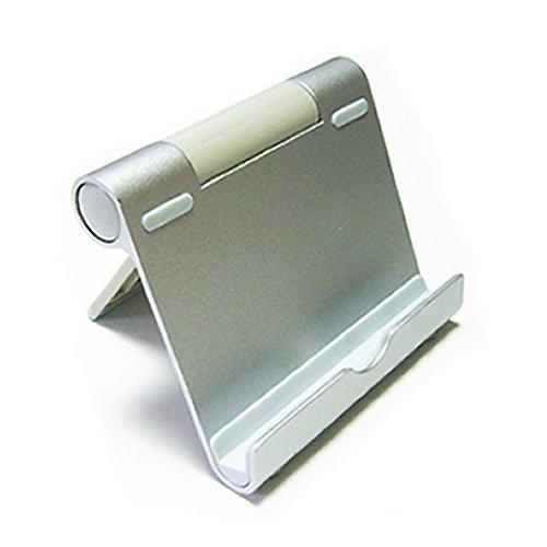 メディアカバーマーケット 【角度調節自在 アルミ製 ポータブルスタンド】KAIHOU KH-MID700[7インチ(800x480)]機種 折りたたみ式