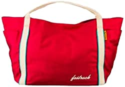 Fastrack Synthetic Handbag A0317CPK01AM - For Women (Pink)