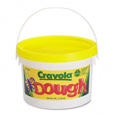 o Crayola o - Reusable Modeling Dough, 3lb in Airtight Container, Yellow