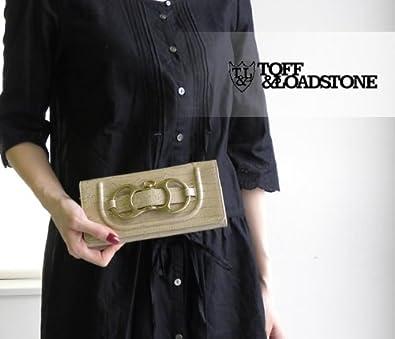 [トフアンドロードストン]TOFF&LOADSTONE デリス クロコ 二つ折り長財布・TLA-109 フリー ターコイズブルー(TQB)