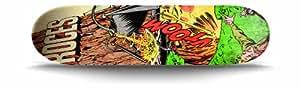 Roces Vtoom Skateboard Street mixte enfant Multicolore Taille Unique