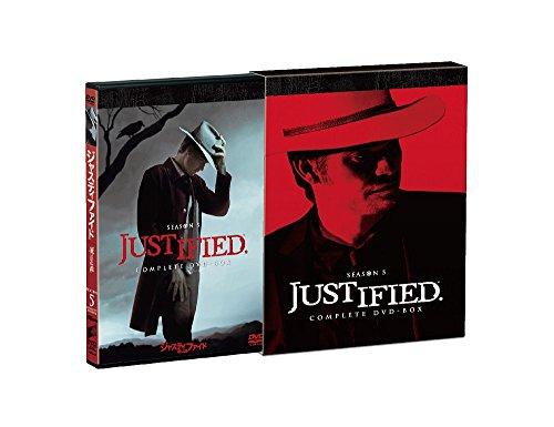 JUSTIFIED 俺の正義 シーズン5 コンプリートDVD-BOX[DVD]
