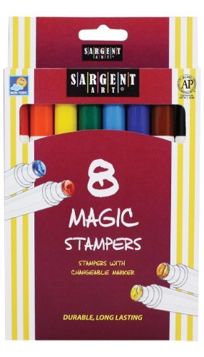 sargent-art-22-1505-8-count-magic-stamper-markers-by-sargent-art