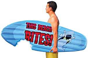 BigMouth Inc This Beach Bites Inflatable Pool Float