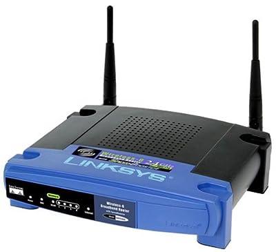 Cisco-Linksys WRT54GS Wireless-G Broadband Router with SpeedBooster