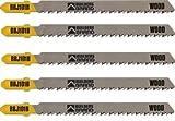 Builders Brand BBJ101B Jigsaw Blade for Wood and Plastics