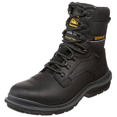 "Caterpillar Men's Generator 8"" Waterproof ST Boot,Black,7 M US"