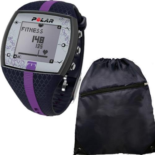 Buy Polar FT7F 90048735 Heart Rate Monitor with Cinch Bag- Blue Lilac