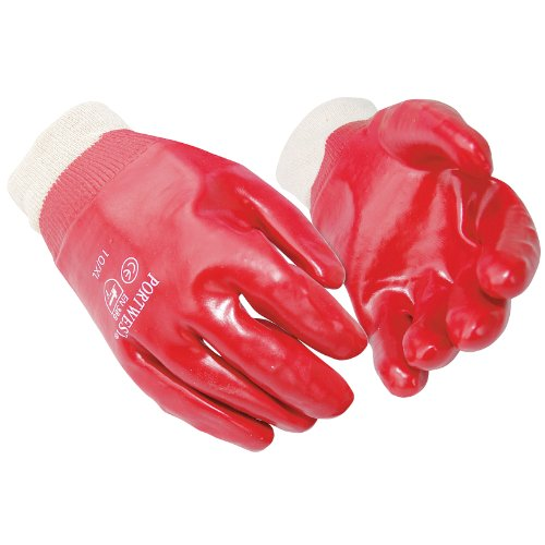 Portwest PVC Knitwrist Gloves (A400) / Workwear / Safetywear