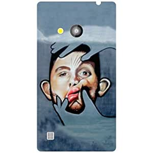 Nokia Lumia 720-Let Me Check Matte Finish Phone Cover