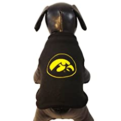 NCAA Iowa Hawkeyes Polar Fleece Dog Sweatshirt, X-Small by All Star Dogs