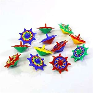 Star Spin Tops - 12 per unit