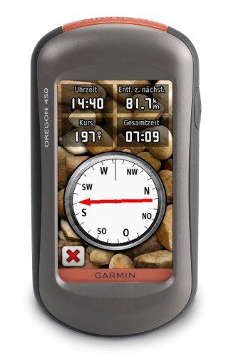 Garmin Oregon 450 GPS Unit - Worldwide Maps