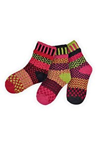 Solmate Ladybug Kids Mismatched USA made Socks