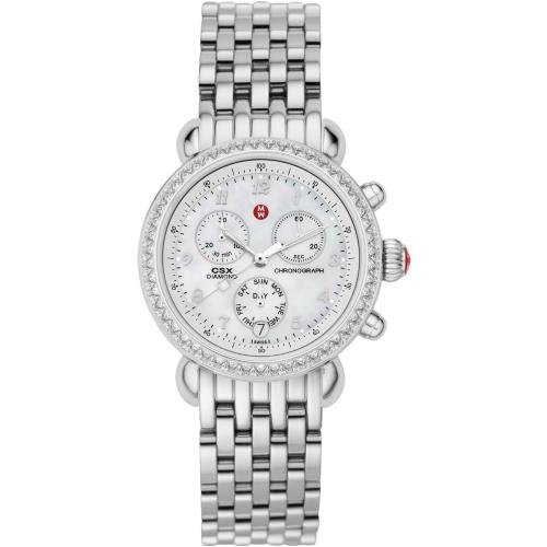 MICHELE CSX Day Diamond Stainless Steel Bracelet