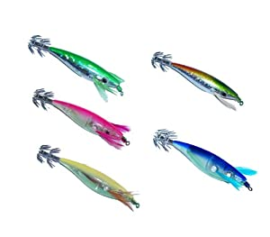 Dblue Squid Jigs Set C from DBlue