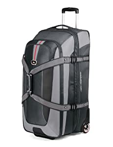 High Sierra AT659 32 -Inch Expandable Wheeled Duffel with Backpack Straps (Graystone/Shadow/Black)