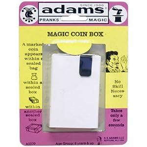 SS Adams Magic Coin Box