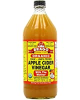 Bragg, Organic Apple Cider Vinegar with The 'Mother', Raw-Unfiltered, 946ml (Pack of 2)