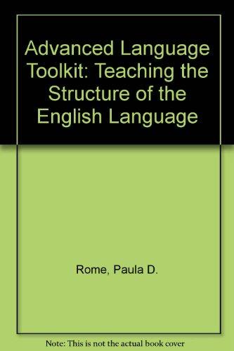 Advanced Language Toolkit Manual