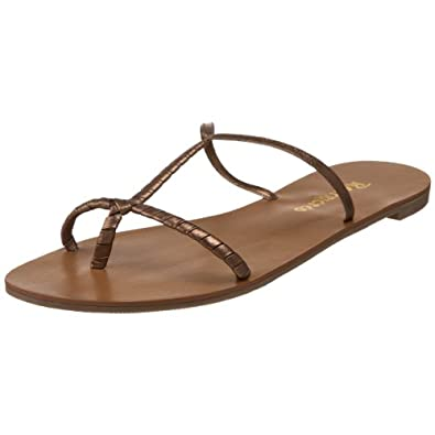 Restricted Women's Redvine Thong Sandal,Bronze,8.5 M US