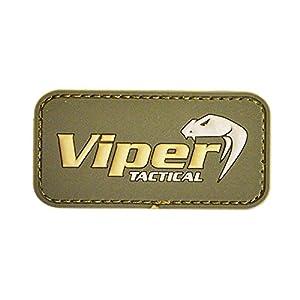 Viper atténué Logo en caoutchouc Vert Olive