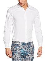 Meltin Pot Camisa Hombre Cassedyp (Blanco)