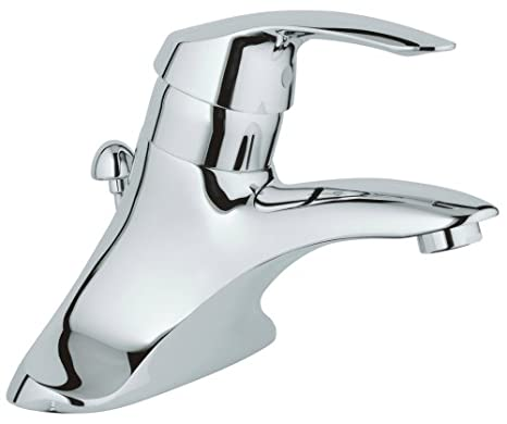 GROHE 33 238 000 Talia Single Handle 4-Inch Centerset Lavatory Faucet, Chrome