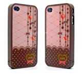 Ero Travel Street Love Lace Disney Hard Case For iPhone 4/4S #V05
