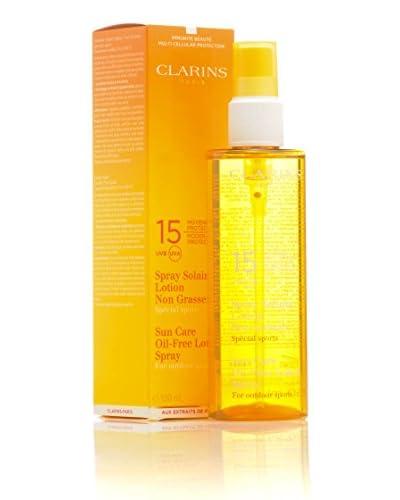 Clarins Spray Solare Lozione Protezione Media Uvb Spf 15 150 ml