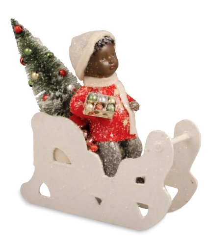 SHINY BRIGHT Figurine Bethany Lowe Victorian Christmas