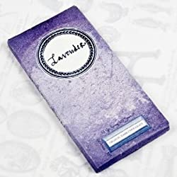 Lavender Organic Dark Chocolate Artisan Bar