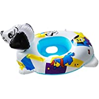 Magideal Kids Inflatable Blowup Beach Pool PVC Swim Boat Holiday Party Toy Dog Boat