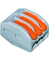 Wago WAG222413 Boîte de 50 bornes 3 x 0,08-4 mm²