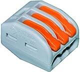 Wago 222-413 3-Leiter-Klemme mit Betätigungshebel
