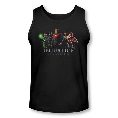 Injustice Gods Among Us Video Game Injustice League Adult Tank Top Shirt