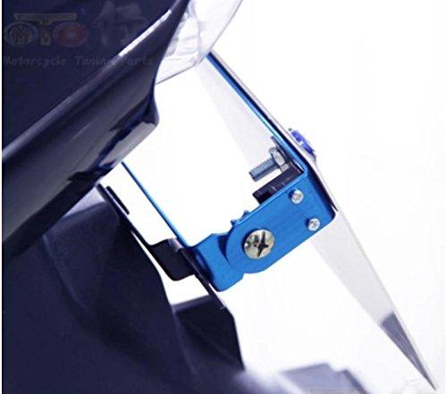 【SCGEHA】色の組み合わせ自由 バイクナンバーステー 角度調整プレート 原付から大型バイクまでOK カラーとステーの色選べます 取り付けボルトナットセット アルミ アルマイト仕様 SCGEHA