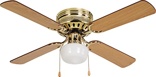 """42"""" Dc Brushless Motor Ceiling Fan With 4 Blades And Single Light Kit"""