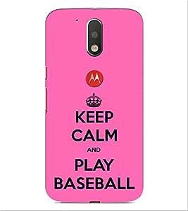 ifasho Designer Phone Back Case Cover Motorola Moto G4 :: Moto G (4th Gen) ( Pink Pattern Skull Lips )