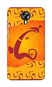 CimaCase Lord Ganesha Designer 3D Printed Case Cover For Micromax Canvas Xpress 2 E313