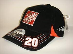 NASCAR #20 Tony Stewart Home Depot Black Velcro Pit Cap