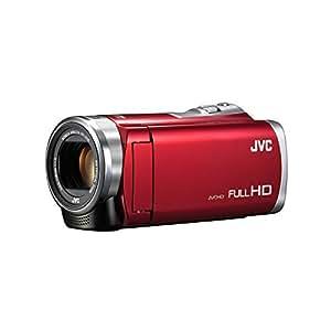 JVC Everio 8GB内蔵メモリー フルハイビジョンビデオカメラ GZ-E880 (レッド(R))