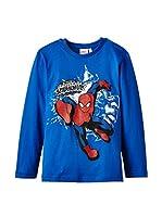 Fantasia Camiseta Manga Larga Spiderman (Azul Royal)
