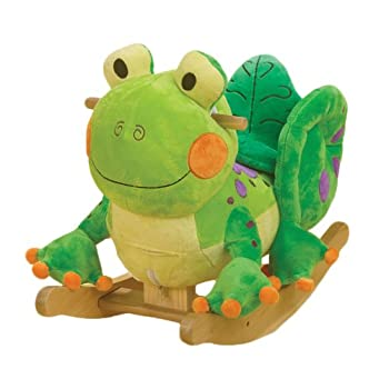 Rockabye Fergie Frog Rocker from Rockabye