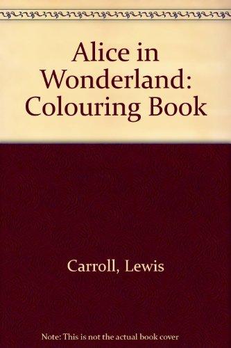 Alicia en el Pais de las Maravillas / Alice in Wonderland Coloring Book in Spanish (Spanish Edition)