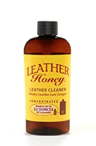 Leather Honey Leather Cleaner, the Best Leather Cleaner for Apparel, Furniture, Auto Interior, Shoes and Accessories by Leather Honey